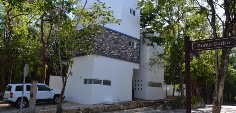 fachada-de-casa-paraíso-en-puerto-morelos